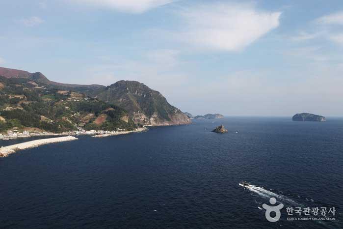 道を見回る鬱陵島のホットスポット - 韓国慶北鬱陵島
